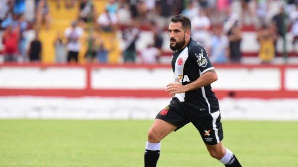 Damián Escudero, em ação pelo Vasco