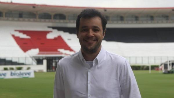 Bruno Maia é vice-presidente de marketing do Vasco