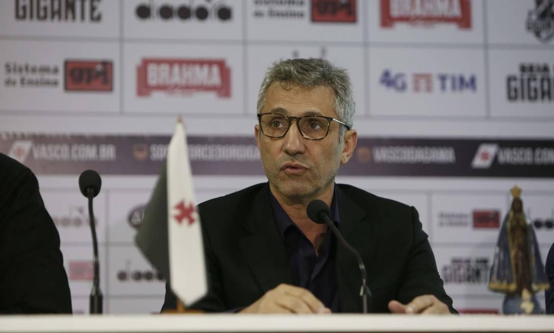 Presidente Alexandre Campello acompanha o andamento do processo em que o Vasco é parte interessada