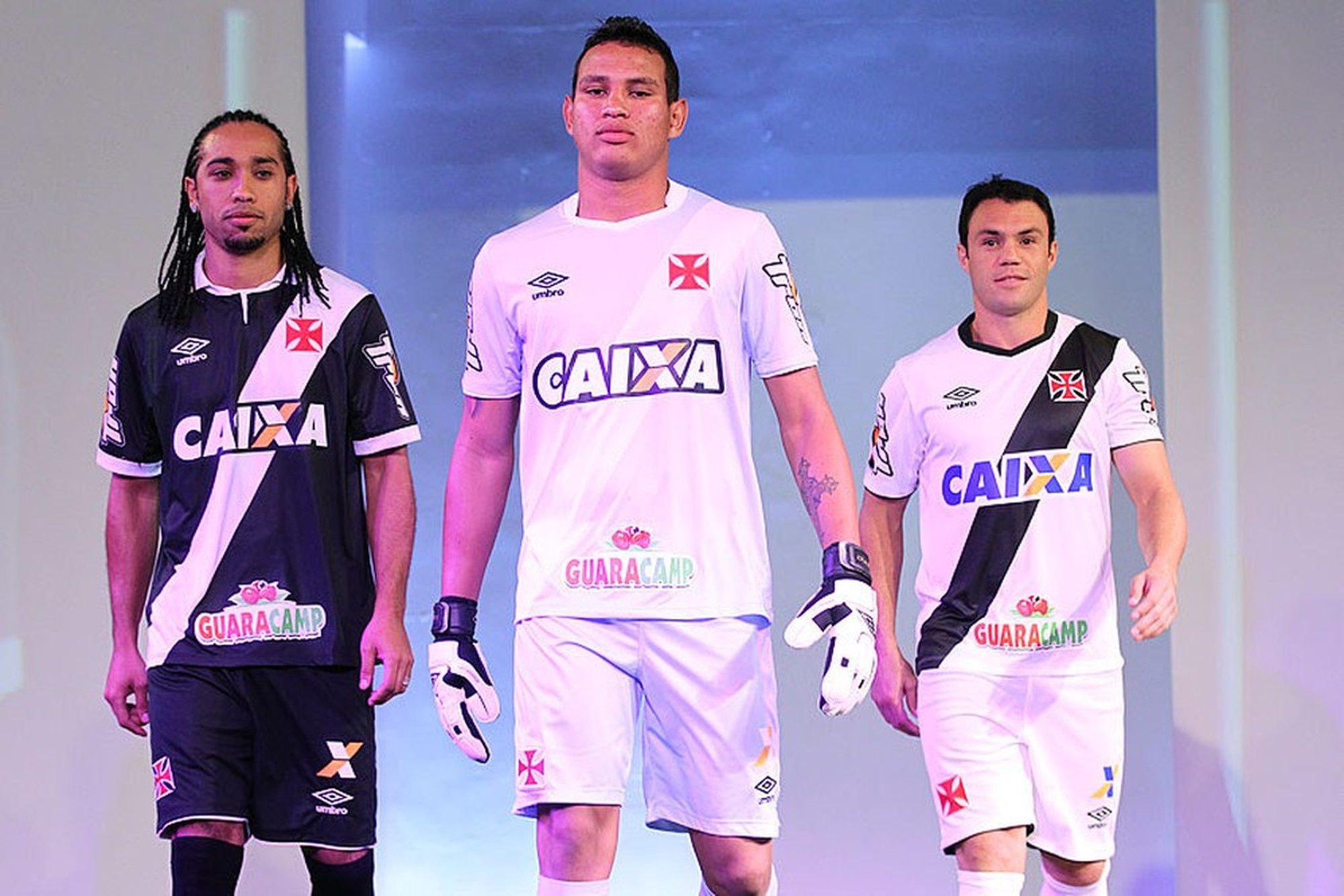 Caixa patrocinou o Vasco até o final de 2017