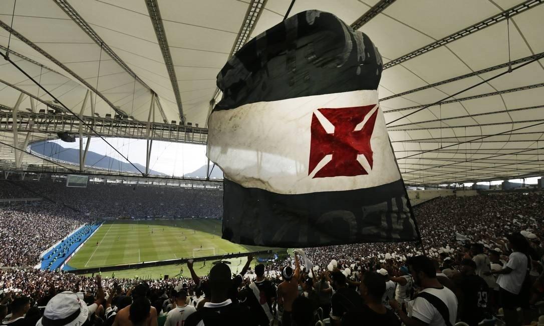 Torcida do Vasco promete lotar o Maracanã contra o ABC, quarta-feira