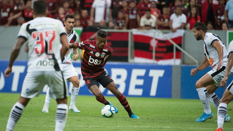 Vasco e Flamengo se enfrentaram em Brasília no primeiro turno do Campeonato Brasileiro de 2019
