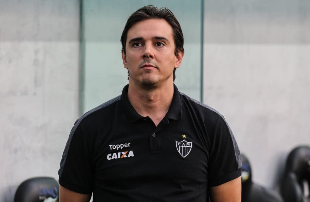 Thiago Larghi foi técnico do Atlético-MG