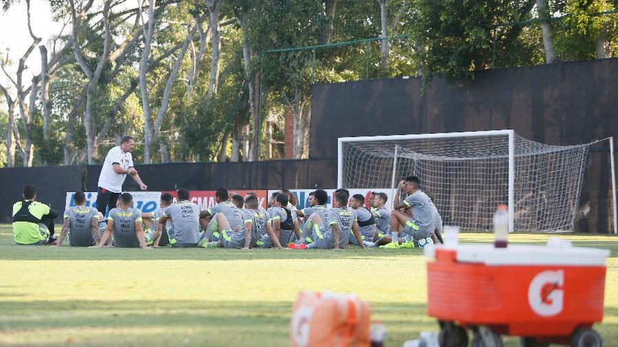 Vasco treinou no CT do Almirante desde janeiro de 2018. Clube está construindo agora o seu próprio