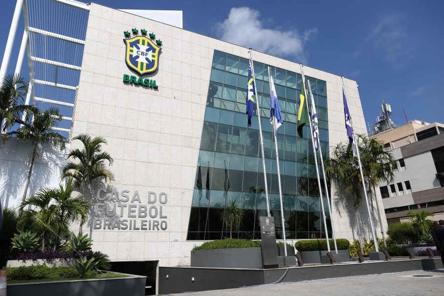 Nova fachada da CBF: A Casa do Futebol Brasileiro