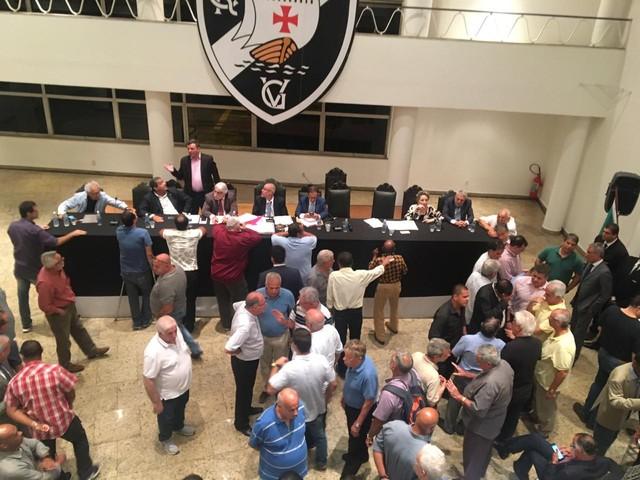 Reunião Conselho Deliberativo do Vasco