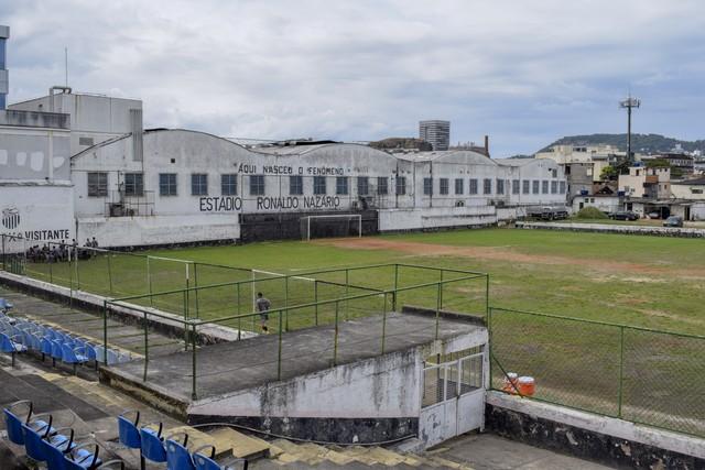 Estádio do São Cristóvão, na Figueira de Melo