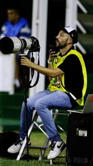 Fotógrafo Rafael Ribeiro está no Vasco desde julho de 2018