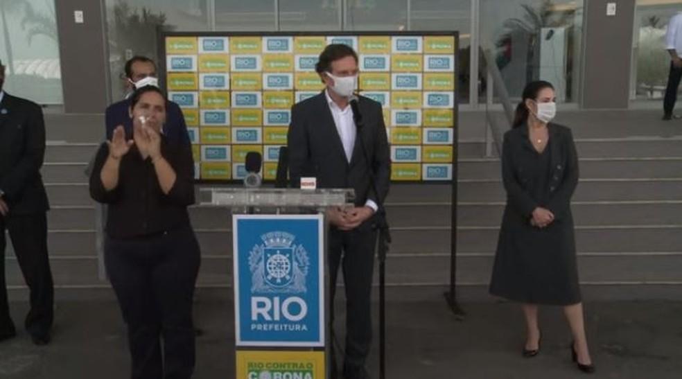 Prefeito do Rio de Janeiro vai se reunir com clubes do estado neste domingo