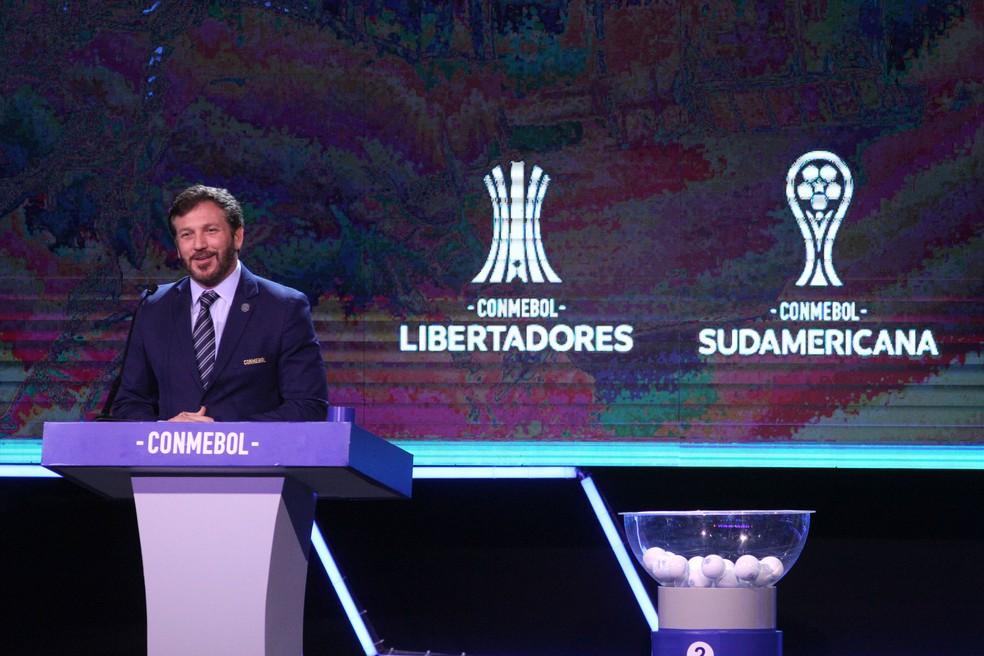 Alejandro Domínguez é o presidente da Conmebol