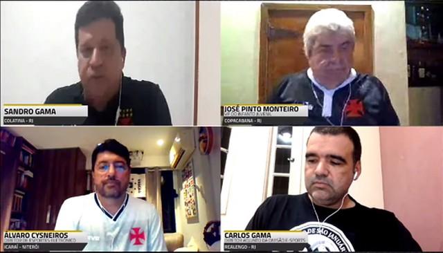 José Pinto Monteiro, Álvaro Cysneiros e Carlos Gama em coletiva sobre o setor de eSports