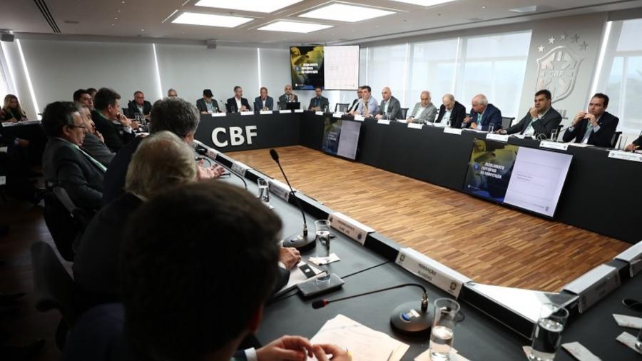 Clubes se reúnem na CBF para a discussão sobre o futebol brasileiro