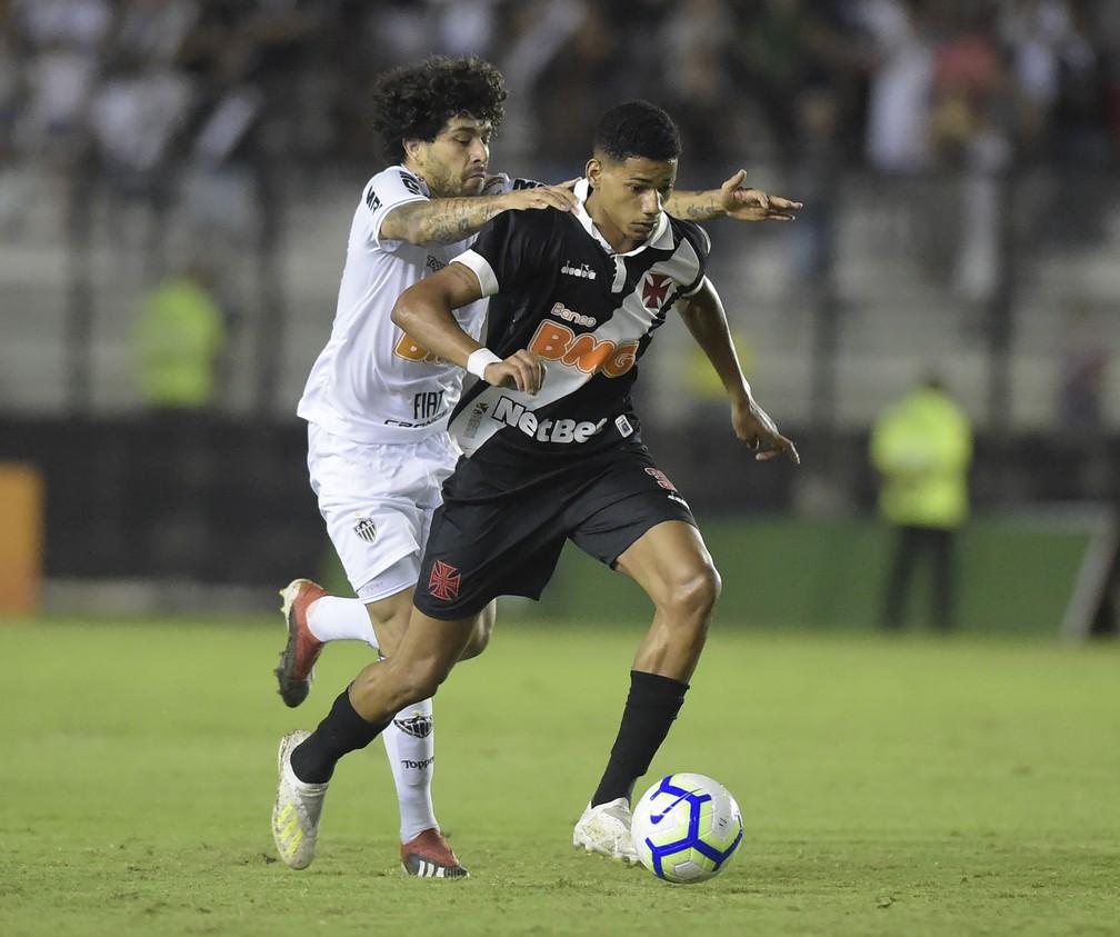 Vasco x Atlético-MG - Marrony e Luan