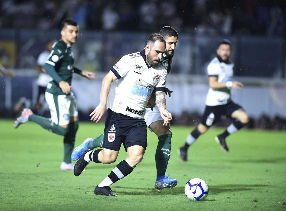 Bruno Cesar, Vasco x Palmeiras