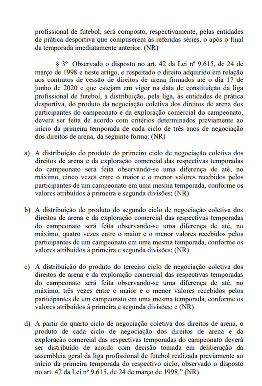 Página 3 da proposta de emenda à MP 984