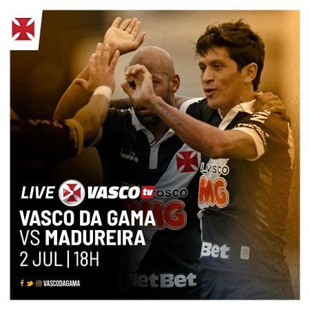 Vasco transmitiu com exclusividade partida contra o Madureira no YouTube e tem colhido frutos