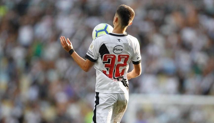 Uma das possibilidades de como ficaria o uniforme do Vasco com o patrocínio da iPlace