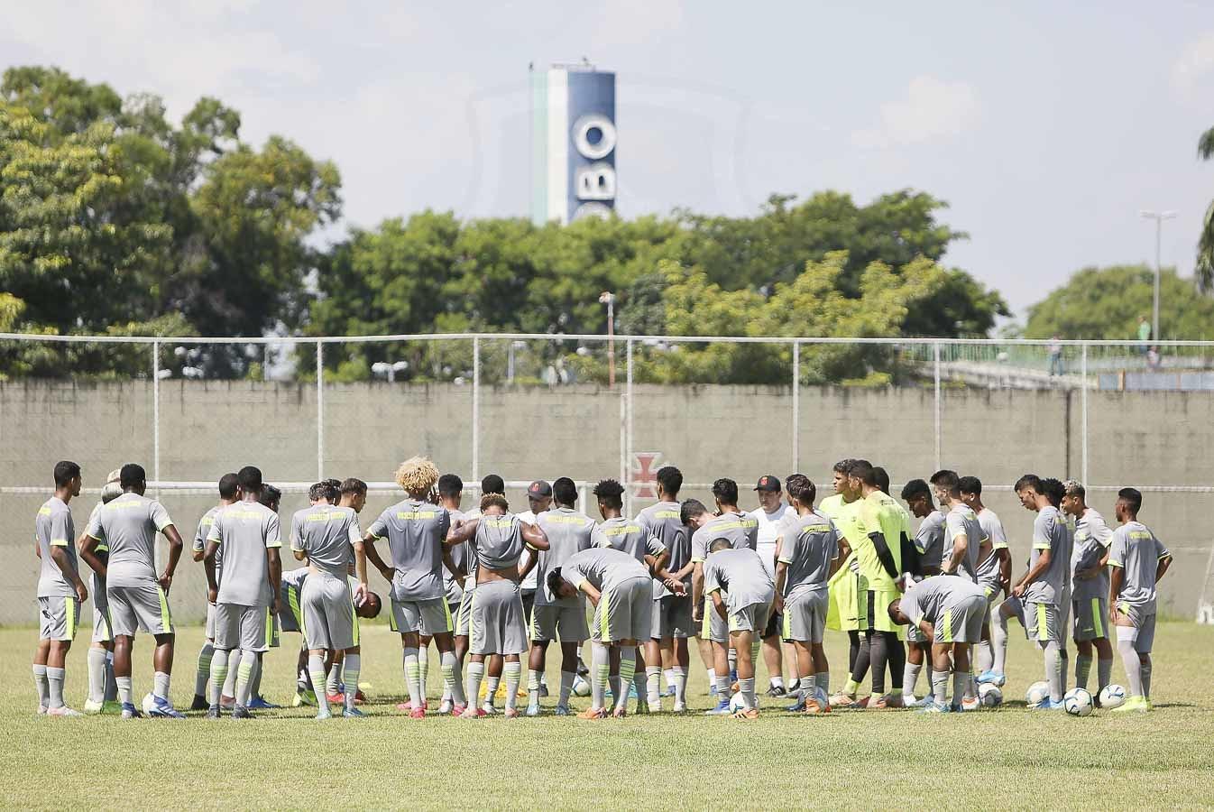 Equipe Sub-20 retornará aos treinamentos na segunda-feira