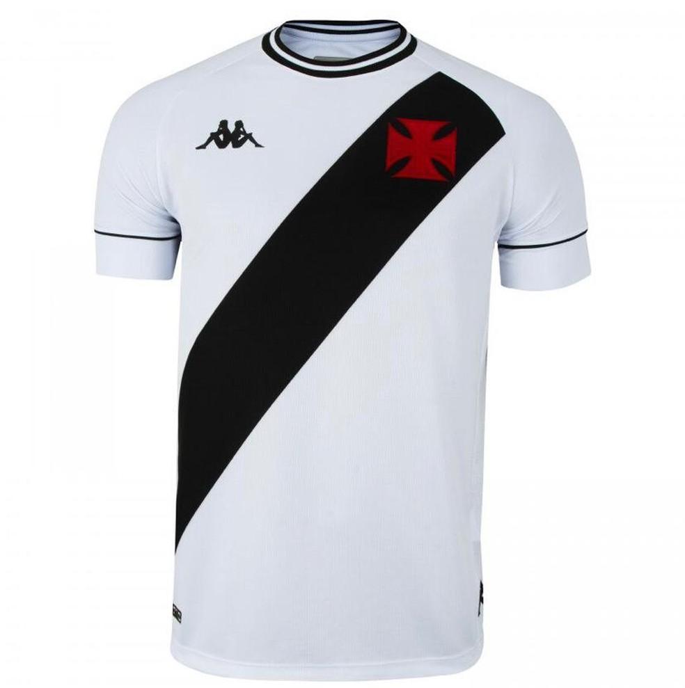 Nova camisa branca do Vasco