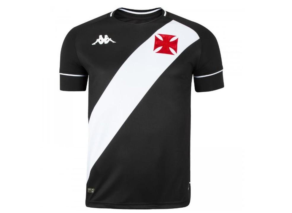 Nova camisa preta do Vasco