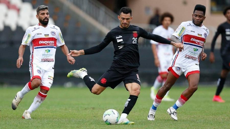 Jogo-treino contra o Porto Velho (RO) foi o último em que o volante Raul participou pelo Vasco
