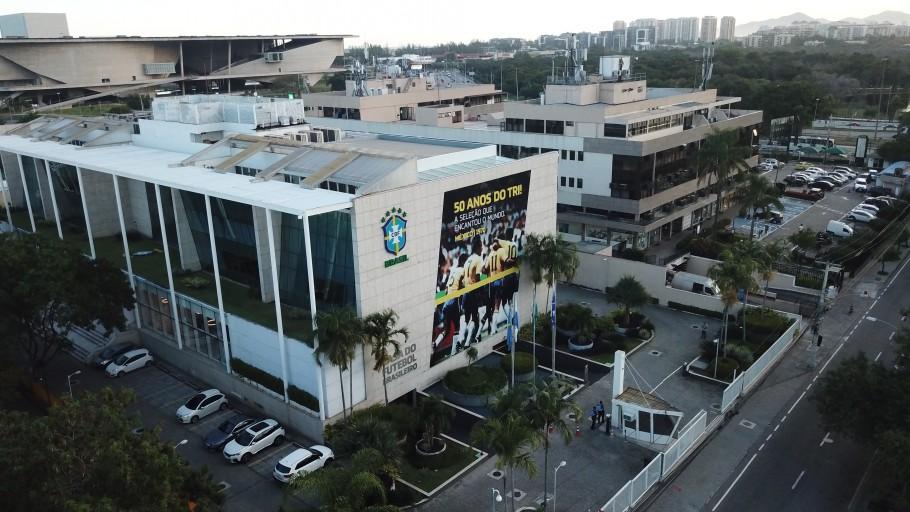 Sede da Confederação Brasileira de Futebol (CBF) na Barra da Tijuca
