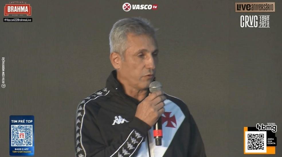 Campello falou sobre o futuro do do Vasco