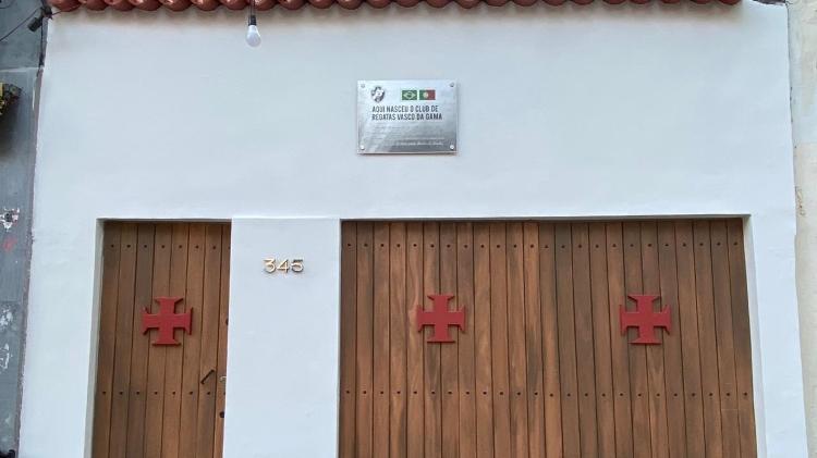 Grupo revitalizou casa no Centro do Rio de Janeiro que recebeu reunião de fundação do Vasco da Gama
