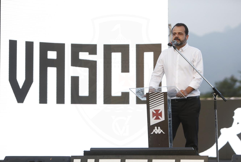 Pedro Seixas discursando no evento