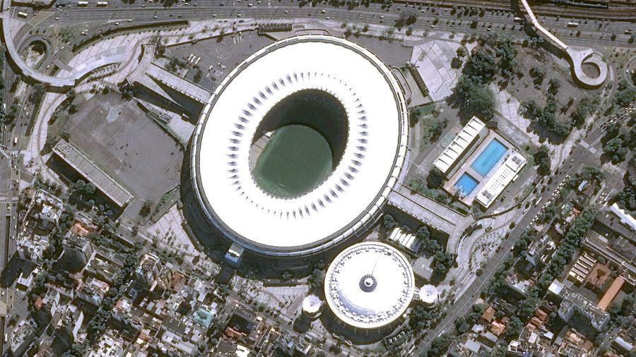 Estádio do Maracanã, assim como os outros, está autorizado para receber até 30% de sua capacidade