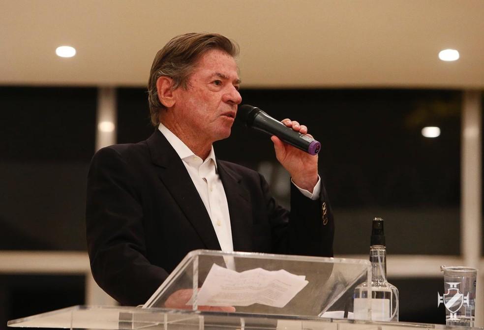 Jorge Salgado toma posse como presidente do Vasco