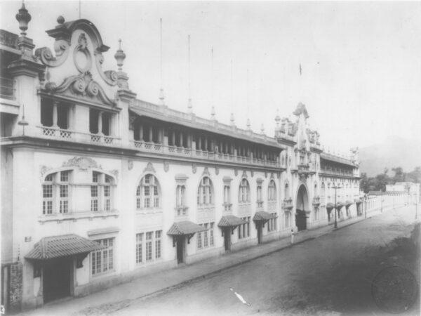 Fachada de São Januário, tombada pelo Patrimônio Histórico Cultural