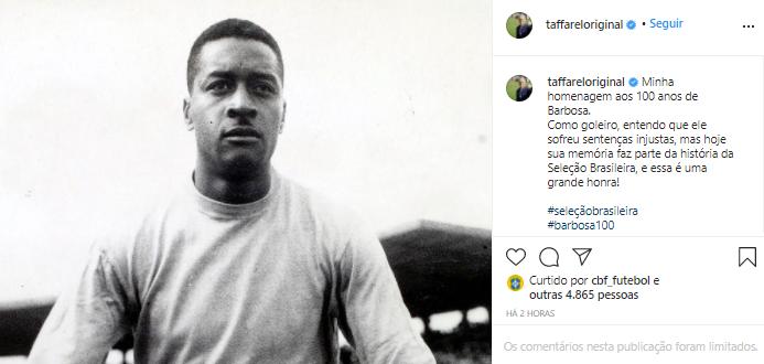 Taffarel (ex-goleiro da Seleção Brasileira)