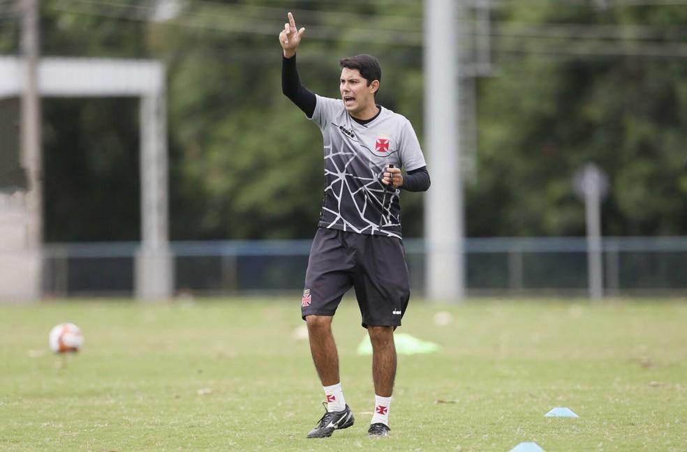 Igor Guerra assumiu como técnico do Vasco Sub-17 em fevereiro de 2021