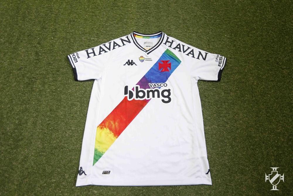 Vasco vai usar a camisa 4, alusiva ao LGBTQIA , contra o Brusque